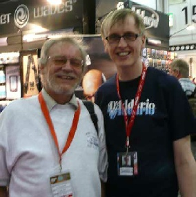 With Pete from D'Addario, who provides your strings!
