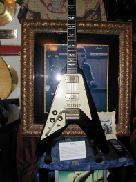 Jimi Hendrix's flying angel Gibson - the last guitar he played in public